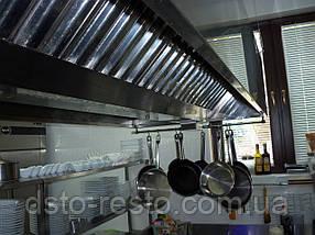Зонт вытяжной островной 1500/1600/400 мм, фото 3