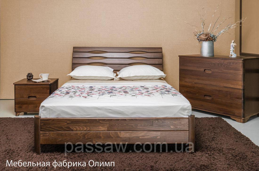 """Кровать деревянная """"Марита S """" 2*2"""