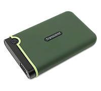 Внешний жесткий диск 2Tb Transcend StoreJet 25M3, Military Green, 2.5', USB 3.0 (TS2TSJ25M3E)