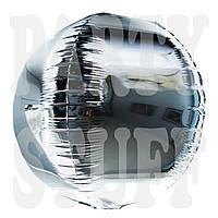 Фольгированный шар Сфера серебро, 47 см