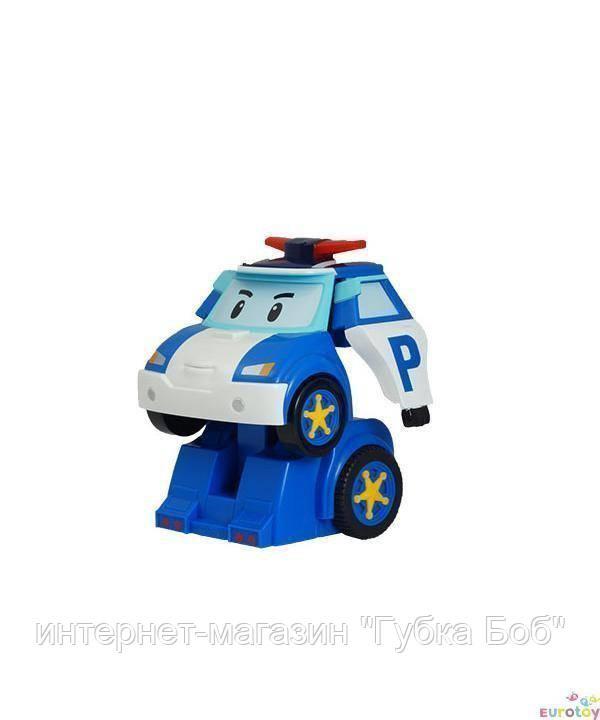 Робот трансформер Поли на радиоуправлении
