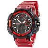 Часы Casio G-Shock GW-A1100 Black-Red Militari Wristband New