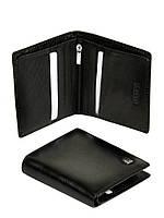 Мужской кожаный кошелек Bretton MS-33 black