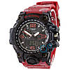Часы Casio G-Shock GWG-1000 Black Red-Militari Wristband