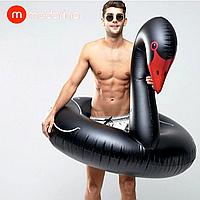 Надувной круг Modarina Черный Лебедь 120 см Черный PF3025
