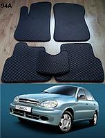 Коврики на Chevrolet Lanos / Sens '05-н.в. Автоковрики EVA