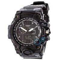 Часы Casio G-Shock GWG-1000 Black Black-Militari Wristband