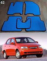 Коврики на Chevrolet Aveo '04-06 SDN/HB T200. Автоковрики EVA
