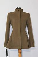 Пальто женское с баской