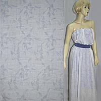 Батист хлопковая ткань белый деворе ткань в цветы ш.140
