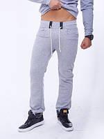 Брюки спортивные мужские  10513 светло-серый