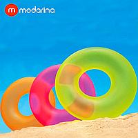 Надувной круг Modarina Яркий 90 см Розовый PF3156, фото 1