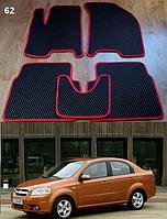 Коврики на Chevrolet Aveo '06-11 T250. Автоковрики EVA