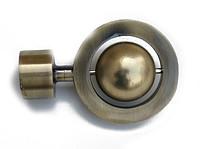 фото Карниз круглый металлический  Юпитер kar-deko.com