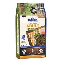 Bosch Adult Mit Frischem Geflügel & Hirse Сухой корм для взрослых собак с птицей и просом