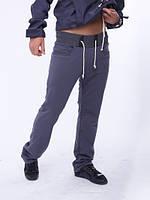 Брюки спортивные мужские  10513 темно-серый