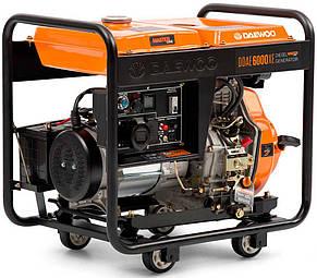 Генератор дизельний Daewoo DDAE 6000XE (5,5 кВт), фото 2