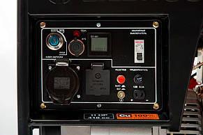 Генератор дизельний Daewoo DDAE 6000XE (5,5 кВт), фото 3