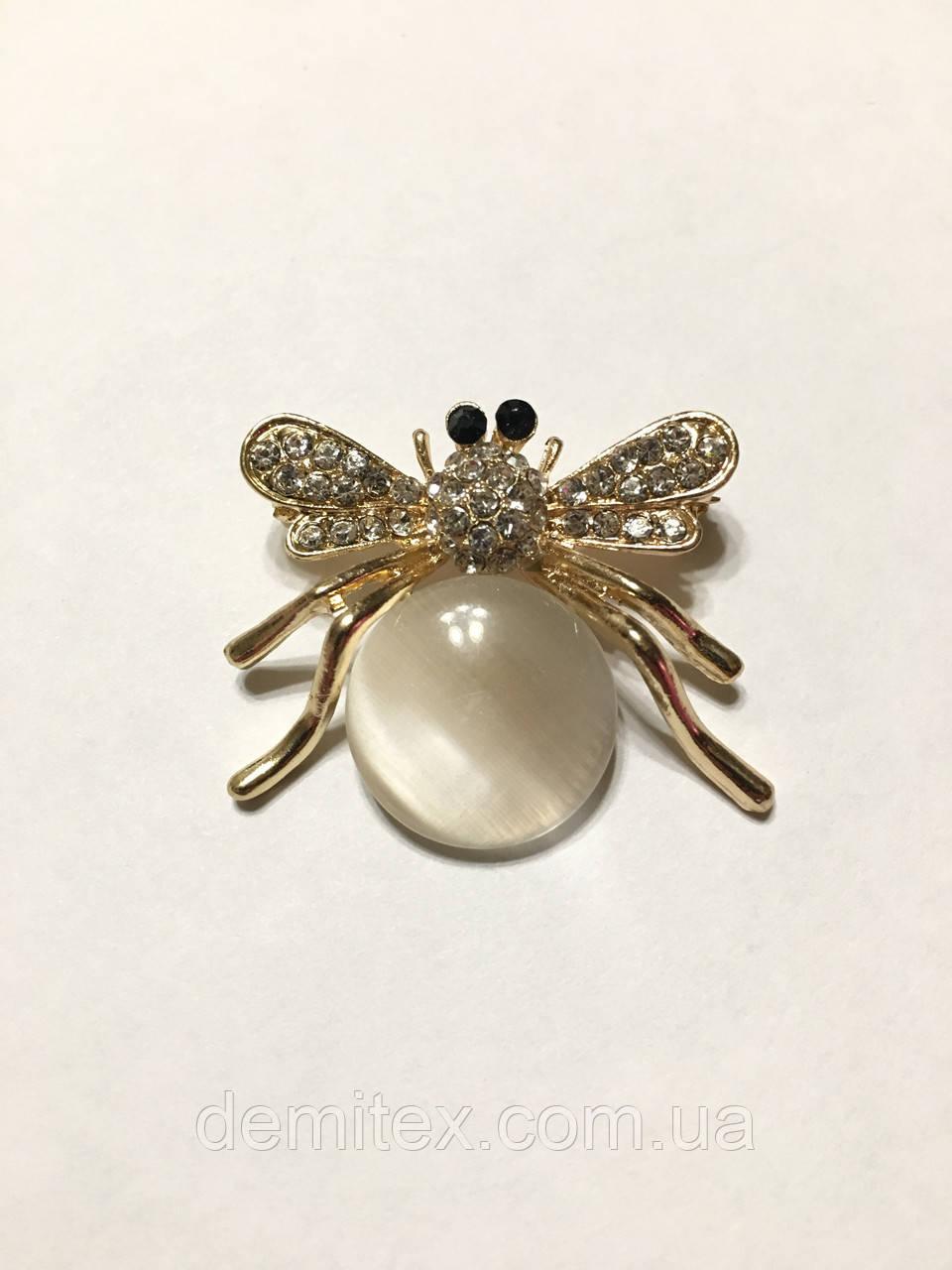 Брошь-булавочка Пчелка