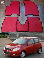 Коврики на Chevrolet Aveo '08-11 хетчбек T255. Автоковрики EVA, фото 1