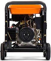 Генератор дизельный Daewoo DDAE 9000XE (7кВт), фото 2