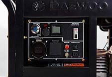 Генератор дизельный Daewoo DDAE 9000XE (7кВт), фото 3