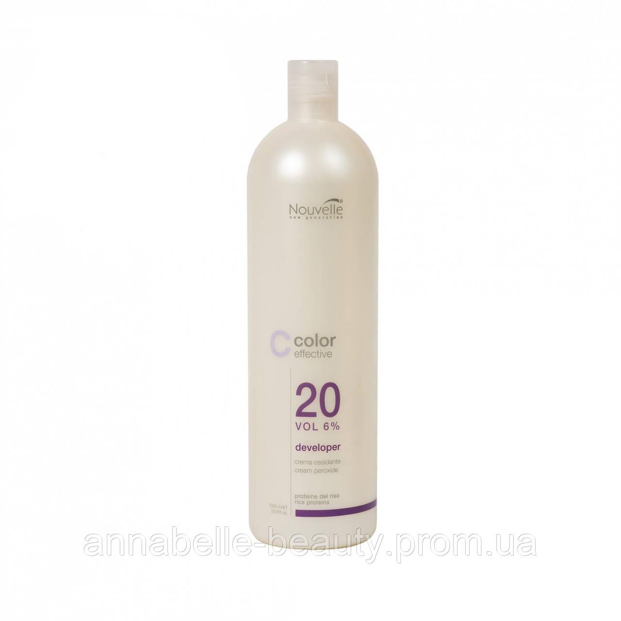 Nouvelle Cream Peroxide Крем-окислитель для волос 12% 1000мл