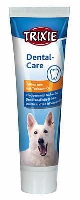 Зубная паста с маслом чайного дерева для собак Trixie 100 гр