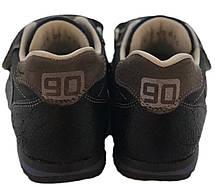 Кроссовки Minimen 93BLACK р. 20, 21, 22, 23, 24 Черные, фото 2