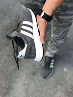 277387a59f25 1400UAH. 1400 грн. В наличии. Мужские кроссовки adidas Iniki Runner Boost  Grey ...