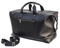 Мужская дорожная кожаная сумка (Баул) Black Diamond BD29Ator