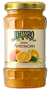Джем Апельсиновый ТМ дніпро, 375 г