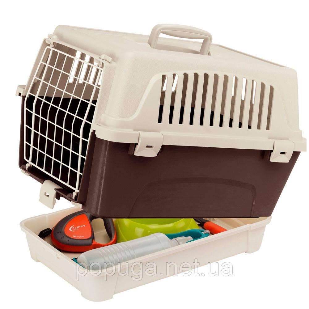 Переноска для кошек и мини собак Atlas 10 Organizer Ferplast, 47,6*33,25*33,6см