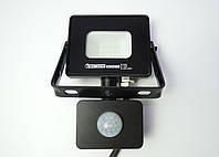Светодиодный прожектор LED SMD 10W датчик движения