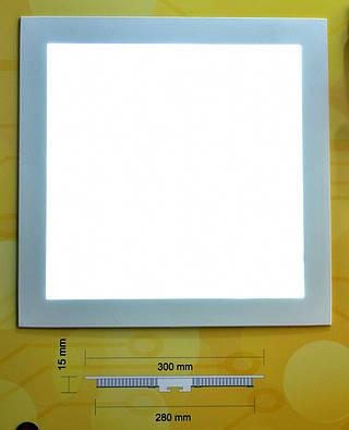 Светодиодный светильник встраиваемый Bellson квадрат (24 Вт, 300х300 мм)