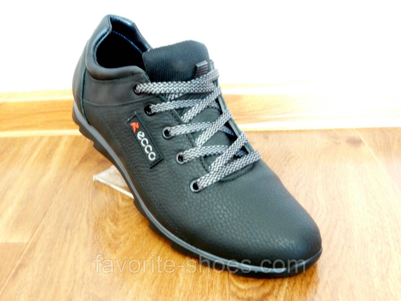 60b88e86 Кожаные мужские кроссовки ecco чер.: продажа, цена в Полтавской ...
