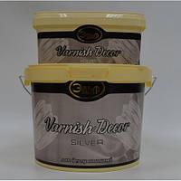Декоративный лак - VАRNISH DECOR (GOLD/ SILVER)  3 кг