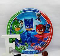 Тарелки праздничные Герои в масках 18 см