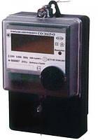 Счетчик электронный однофазный СО-ЭА15-О для многотарифного учёта активной электрической энергии КоммунарСчет