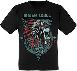 Футболка Indian Skull