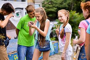 Квест «Украденное кино» на Подоле для Вики и её друзей 24.06.2017 2