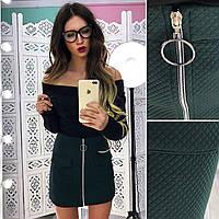 aba28293e9d Купить женский костюм с мини юбочкой в расцветках АМС-1801.070(2 ...