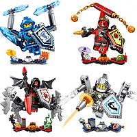 Конструктор Nick Knights (LEGO Nexo Knights) 8 ШТ. в дисплее от 77 до 84 деталей, SY721ABCD
