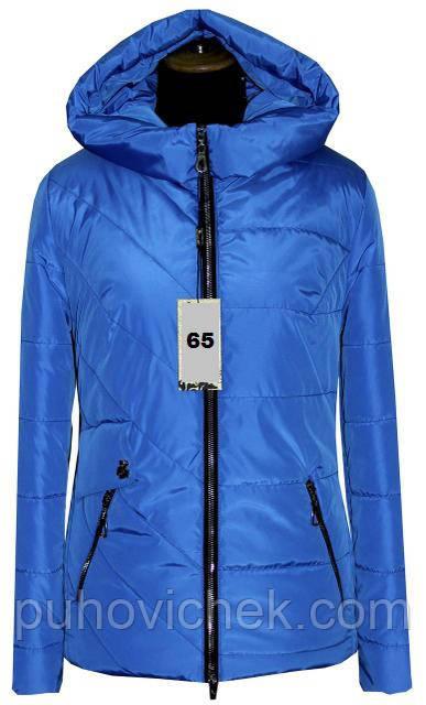 Стильная женская куртка демисезонная укороченная