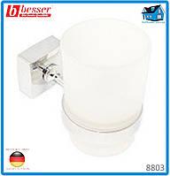 Стакан для зубных щеток Besser 8803 6.5*11*9.5см