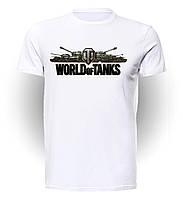 Футболка GeekLand Мир Танков World of Tanks надпись WT.01.001