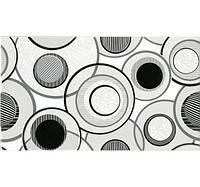 Керамическая плитка Fluid декор белый 23х40 см