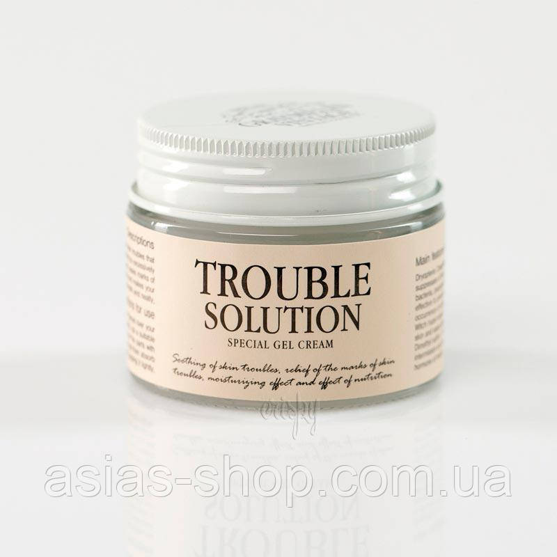 Гель-крем против акне GRAYMELIN Trouble Solution Special Gel Cream - 50 гр