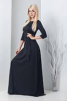 Женское длинное платье в пол Агнес