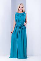 Женское шифоновое платье в пол Шакира (42-44) 5 цветов